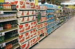 sweet drinks aisle