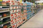 sweet drinks aisle