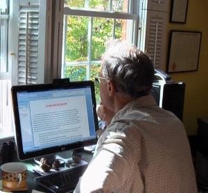 Working on Blog