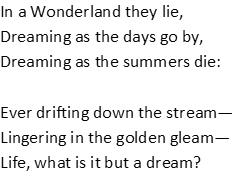 Alice poem