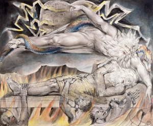 Job's Evil Dreams by William Blake [Public Domain]